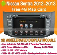 Android Car DVD Player Radio GPS Navigation WIFI 3G for Nissan Sentra 2012 2013