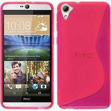 Silicone Case HTC Desire 826 S-Style hot pink Case