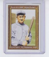 Ty Cobb, Detroit Tigers, Hall Of Fame 50th Anniversary only 200 exist 🔥