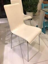 Habitat Leather Dining Room Chairs