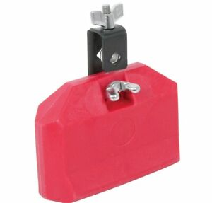 Chord Red Drum Low Block With Mount Plastic Latin Percussion Musical Instrument