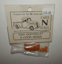 Bruce Richardson's N Scale RESIN 1950 Chevrolet 4-Door Sedan Kit NIP