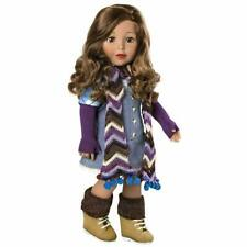 Ava Amazing Collection 18 Inch Doll Girl Light Brown Hair and Brown Eyes