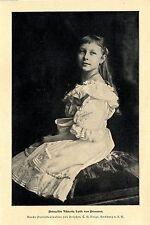 Prinzesin Viktoria Luise von Preußen * Hofphotogr. T.H.Voigt * Bilddokument 1902