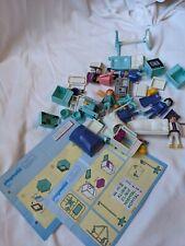 Vintage Playmobil City Hospital Clinic Doctor Lot sets 3981,3980 & instructions