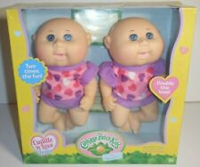 Cabbage Patch Kids Cuddle And Love Twins Tiny Newborn 2x Fun Babies / CPK Dolls