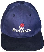 Washington Bullets NBA Fantastic Brand Strapback Blue Cap Hat Burger King