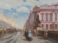 Peintures du XXe siècle et contemporaines huile sur toile en pays du monde, voyage