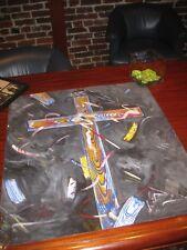 "ROBERT DOWD SIGNED PAINTING Cross 3/16/90 ARTWORK ""Maras Faith"" Signed original"