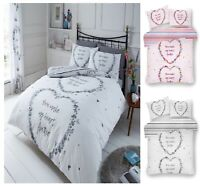 Luxury FLUTTER Printed Reversable Duvet Cover+PillowCase Bedding Set All Size Gc