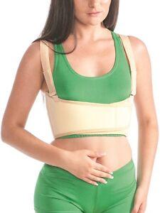 Fixierung Bandage-4302 Brustkorb Brust Rücken Klettverschluss Gurt