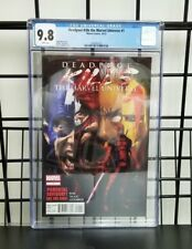 Marvel Comics Deadpool Kills The Marvel Universe #1 CGC 9.8 NM / MT 2012 Bunn
