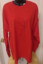 Croft & Barrow NWT Mens Red Long Sleeve T-Shirt Size L
