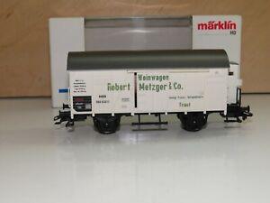H0 Märklin 48754 Jahreswagen 1999 Weinwagen Robert Metzger Neuwertig OVP 0039