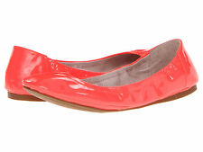 Vince Camuto Ellen Ballet Flats Size 8 Very Bright Atomic Pink Patent Leather