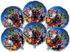 (6) pcs Marvel Avengers Balloons Birthday Party Supplies