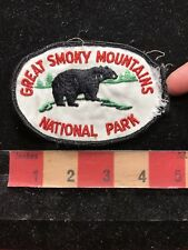 Vtg As-Is DAMAGED Great Smoky Mountains National Park North Carolina Patch 84FF