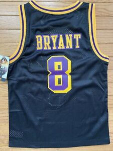 Nike Kobe Bryant LA Los Angeles Lakers 1961 Swingman Jersey Youth Medium New Tag