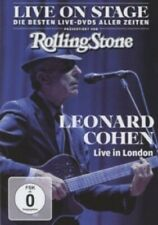 LEONARD COHEN - LIVE ON STAGE: LIVE IN LONDON  DVD POP INTERNATIONAL NEU