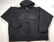 SRH Spade Men's Full Zip Hoodie Sweatshirt Size Medium B132