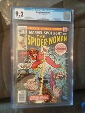 Marvel Spotlight #32 CGC 9.2 white pages - Origin & 1st Appearance Spider-Woman