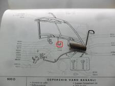 MOLLA PER STAFFA COFANO ANTERIORE FIAT 600 D 1100 D FIAT 865178