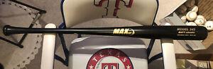 """MATT ADAMS GAME ISSUED MAX BAT MODEL 345 Brand New 34"""" 32oz Maple"""
