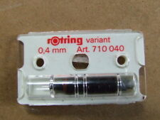 Rotring variant .4mm replacement nib 710040.  Cased unused office stock.