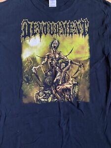 Devourment VTG OOP Butcher The Weak S/S Large Suffocation Dying Fetus