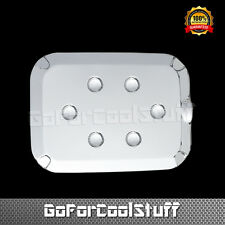 For 2011-2016 Ford Super Duty F250 F350 F450 Chrome Gas Tank Fuel Door Cover