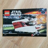 LEGO - INSTRUCTIONS BOOKLET ONLY A-wing Fighter - Star Wars - 6207