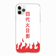 Naruto Hokage Yondaime soft case cover for iPhone Samsung Galaxy HTC phones