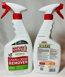 Natures Miracle Dog Stain And Odor Remover (24 OZ.) Free Shipping New Formula
