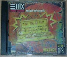 EMU E-MU Sampler Sampling Sample CD EIII-X ESI E4 EIV Vintage Vol. 8