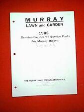MURRAY REAR ENGINE RIDING MOWER MODEL 8-35500 PARTS MANUAL