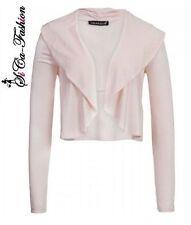 Bauchfreie Damenjacken & -mäntel aus Polyester ohne Verschluss