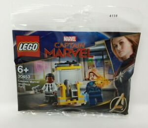 LEGO 30453 Captain Marvel and Nick Fury Poly Bag Ready to Ship
