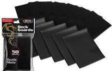 800 Black Matte Deck Guard Card Sleeve Protectors - Tournament Quality MTG