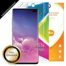 2X Samsung Galaxy S10 Plus S10+ Full Coverage Front Screen Protector Cover Guard