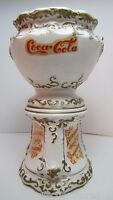 COCA-COLA SYRUP URN Small Vintage Ceramic Decorative COKE Soda Sign Advertising