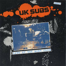 U.K. SUBS Live At The Roxy Club  CD (1991 Receiver) neu!