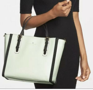 Kate Spade New York  BEDFORD COLORBLOCK LEATHER SQUARE EASTEN TOTE