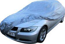 AUTO Copertura Impermeabile UV Protezione Gelo Sole Vento Neve Elasticizzato Grigio