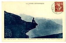 CPA 73 Savoie Envir.du petit St-Bernard Rocher Debon et Massif Bellecote animé