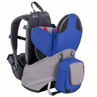 Phil & Teds Parade Backpack Baby Carrier - Blue / Grey - New w/ tags! (open box)