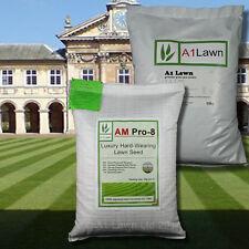 LUXURY HARD-WEARING GRASS SEED 5kg & PRE-SEEDER FERTILISER 10kg(MULTI-SAVE PACK)