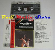 MC JAMES BROWN Soul classic 1972 POLYDOR ITALY 3186 069  no cd lp vhs dvd