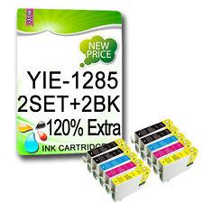 10 INK CARTRIDGE FOR SX235W SX425W SX435W SX438W SX445W SX130 T1285 NON-OEM