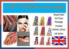 3 x Packs Nail Foils Wraps, 69 Art Designs.