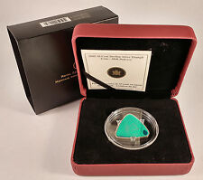 CANADA 2008 50-CENT STERLING SILVER TRIANGLE COIN - MILK DELIVERY